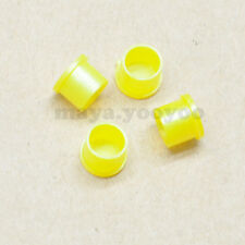 50pcs  Yellow Plastic Covers Dustproof Dust Cap for SMA RP-SMA Female Connector