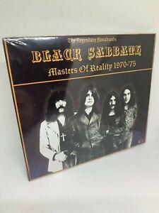 Black Sabbath - Masters of Reality 1970-75 the Legendary Broadcasts 4 CD Box Set