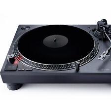 More details for acrylic turntable slipmat pad for vinyl lp record player platter mat black