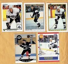 1990-91  Upper Deck  Rob Blake  Rookie   5 Different