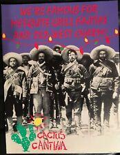 Vintage Postcard Cactus Cantina Tex-Mex Restaurant in Washington DC