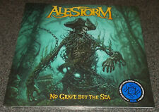 ALESTORM-NO GRAVE BUT THE SEA-2017 G/F LP-BLUE VINYL-300 ONLY-NEW & SEALED