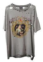 Vintage NIRVANA kurt Kobain faded 90 bootleg tee shirt Rare Fear of God thrashed