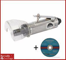 Disqueuse / Meuleuse pneumatique droite 75 mm.  Livrée avec 1 disque