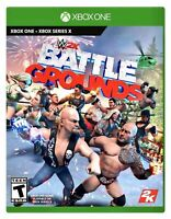 New! WWE 2K Battlegrounds Xbox One / Series X FACTORY SEALED Wrestling Game XB1