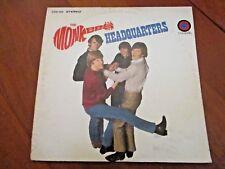 1967 THE MONKEYS - HEADQUARTERS - COLGEMS - COS-103 STEREO - VG+