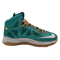 Nike LeBron X Miami Dolphins Teal 100% Authentic Size Mens US 12 541100-302