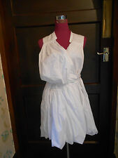 Beautiful All Saints Misae Dress White Size 10 Excellent Condition