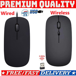 Wired USB Optical Mouse,Wireless Mouse,Bluetooth Mice For PC Laptop Mac computer