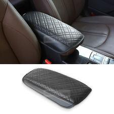 Limousine Armrest Console Black Leather Cushion Cover 1P for KIA 16-18 Optima K5