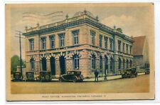 Post Office Kingston Ontario Canada 1938 postcard