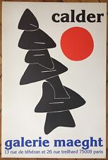 Calder Alexander affiche Lithographie Paris New-York art abstrait abstraction