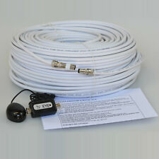 20M White Cable For Sky HD TV Link Magic Eye Kit, Everything You Need