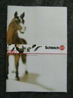 Schleich - Katalog - Prospekt - Werbeheft von 2001 mit dem Künstlerpferde