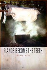 Pianos Become The Teeth Keep You Ltd Ed Large Rare Poster +Free Punk Rock Poster