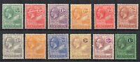 Antigua 1921-29 values to 1s MLH/MH