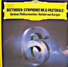 ++KARAJAN/BERLINER PHILHARMONIKER symphonie 6 pastorale BEETHOVEN LP 1977 VG++