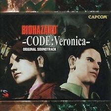 BIOHAZARD GAME SOUNDTRACK Japanese CD BIO HAZARD CODE:Veronica 2set cd