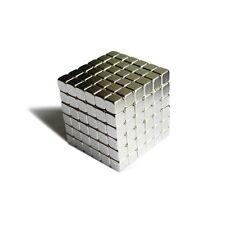 "216pcs 7/32"" x 7/32"" x 7/32"" Cube 6x6x6mm Neodymium Magnets Fridge Craft N35 Neo"
