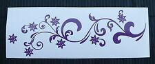 adesivo fiore decal sticker vinile ritagliato sticker flower vetro window