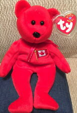 TY Beanie Baby PIERRE Teddy Bear CANADA Exclusive! MWMT Bean Bag Plush #04607