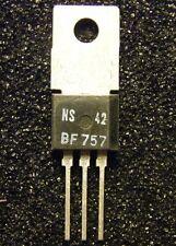 2x BF757 NPN 250V 0,5A 10W 45Mhz, National Semiconductor