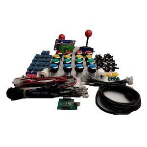 Kit Joysticks Arcade 2 Joueurs boutons lumineux  COMPLET