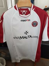 RARE OLD 2009 SHEFFIELD UNITED AWAY     FOOTBALL  SHIRT  SIZE ADULTS MEDIUM