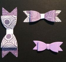 Bow Ribbon cutting die (Makes 3 Bows) Suitable for Sizzix Cuttlebug Machines