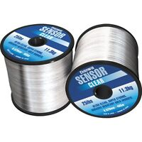 Daiwa Sensor NEW Bulk Spool Monofilament Clear Carp and Coarse Fishing Line