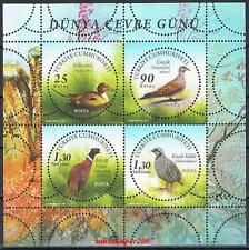 TURKEY 2011, WORLD ENVIRONMENT DAY ( BIRD ) MNH