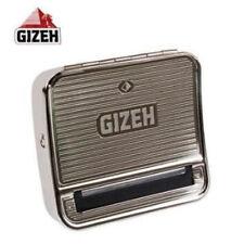 Gizeh Metal Aluminio CIGARETTE Tobacco Rolling Caja Máquina Tin para papeles 70 mm