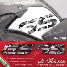 2 Adesivi Fianco Serbatoio Moto BMW R 1200 gs adventure GSmimetico vulcan