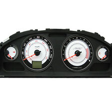 ADD W1 Overlay gauge for 2004 2005 04 05 SE-R Cluster White Face