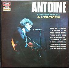ANTOINE PUBLIC A L'OLYMPIA DEDICACE VOGUE CLVLX 363  Accompagné par LES MARKMEN