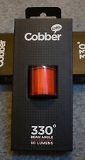 Knog Lil Cobber Rear LED Bike Light Rechargeable, USB, programable