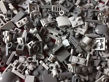 Lego - 50 Brand NEW MIXED UP GREY Small Cone, Plate, Brick Lego Pieces