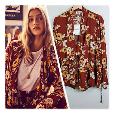 [ BOHEMIAN TRADERS ] Womens Waterfall Magnolia Jacket NEW | Size L or AU 14