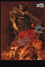 KJELL NILSSON VERNON WELLS signed Autogramm 20x30cm MAD MAX 2 in Person autograp