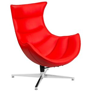 Swivel Chair Home Office or Living Family Room Accent Chair Red