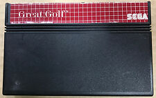 Great Golf Cartridge Only (Sega Master System, 1985)