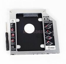 New 2nd 9.5mm SATA HDD SSD Caddy Adapter for Toshiba R830 R930 swap UJ8B2 UJ-8B2