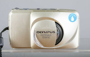 Olympus Stylus 140 Deluxe Compact 35mm Film Camera 38-140mm Zoom Tested!