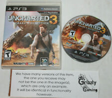 USED Uncharted 3: Drake's Deception Sony Playstation 3 PS3