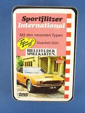 Quartett - Sportflitzer International - BIELEFELDER SPIELKARTEN Nr. 0311 - Joker
