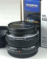 Olympus M.Zuiko Digital 17mm f/1.8 Lens MSC - M43 + Lens Hood JJC LH-J48B