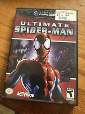 CASE AND MANUAL ONLY Ultimate Spiderman Nintendo Gamecube NO GAME