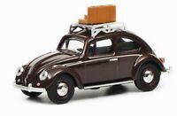 VW KÄFER mit Gepäck  1:64 SCHUCO 20170