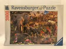 RAVENSBURGER 170371 3000 PIECE AFRICAN ANIMAL WORLD PUZZLE SOFTCLICK BRAND NEW
