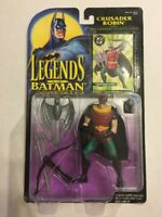 Legends of Batman- Crusader Robin with Crossbow 1995 Kenner NEW
